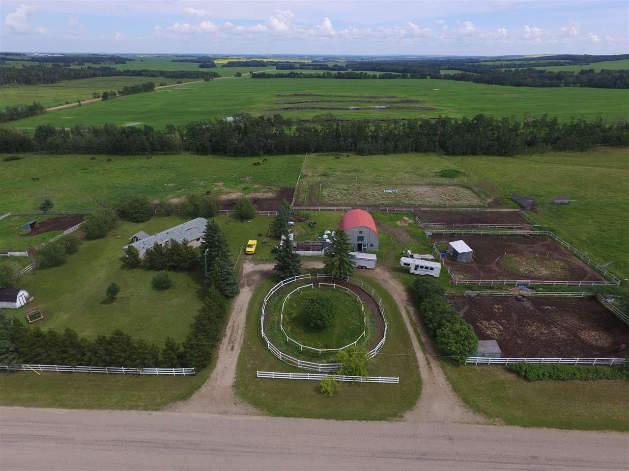 Main Photo: 423069 Rge Rd 10: Rural Ponoka County Manufactured Home for sale : MLS®# E4206175