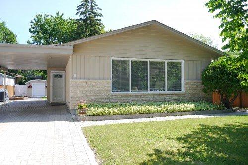 Main Photo: 6 Celtic Bay in Winnipeg: Fort Garry / Whyte Ridge / St Norbert Single Family Detached for sale (South Winnipeg)