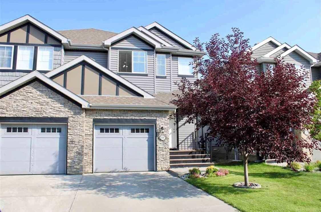 Main Photo: 3087 Whitelaw Drive in Edmonton: Zone 56 House Half Duplex for sale : MLS®# E4197251