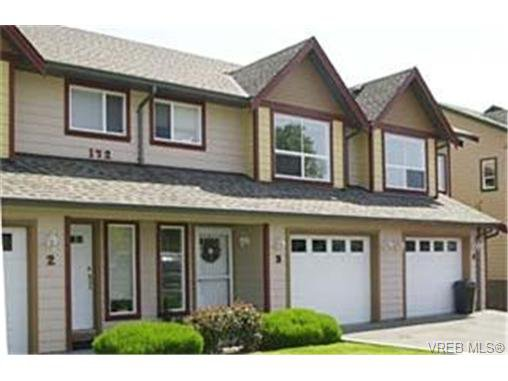 Main Photo: 3 172 Belmont Road in VICTORIA: Co Colwood Corners Townhouse for sale (Colwood)  : MLS®# 229745