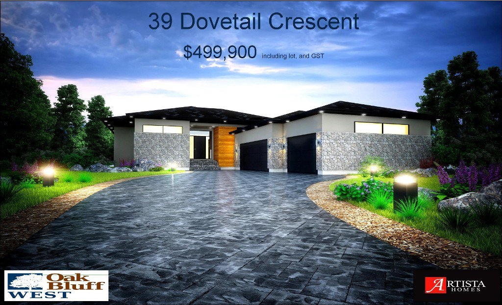 Main Photo: 39 Dovetail Crescent in Oakbluff: Single Family Detached for sale : MLS®# 1531632