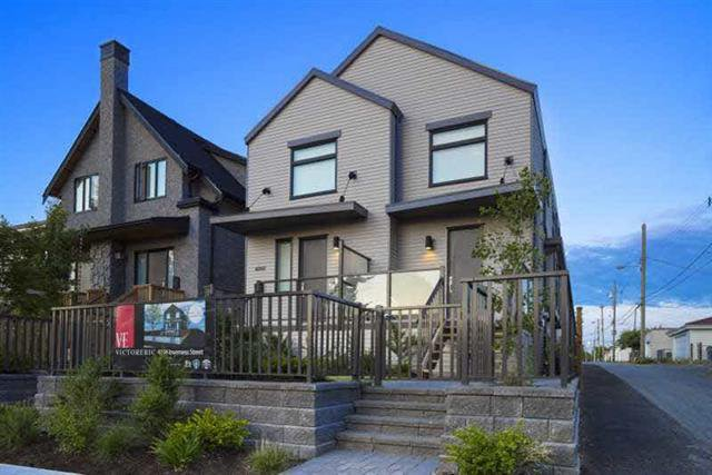 Photo 1: Photos: 4268 Inverness Street in Vancouver: Knight House 1/2 Duplex for sale (Vancouver East)  : MLS®# V1130624