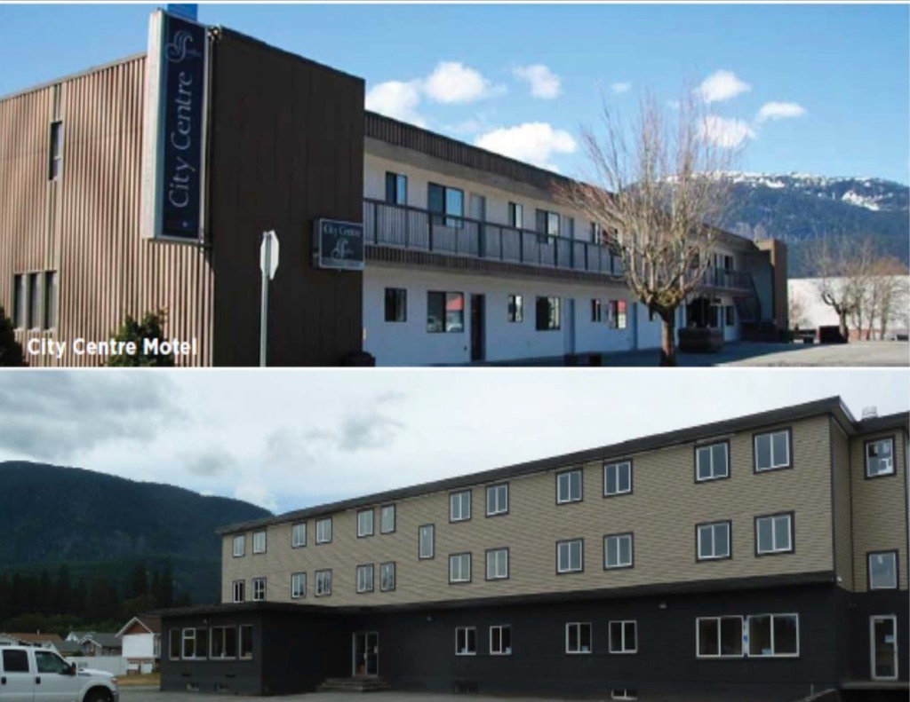Main Photo: City Centre Motel in Kitimat: Multi-Family Commercial for sale (Kitimat, BC)