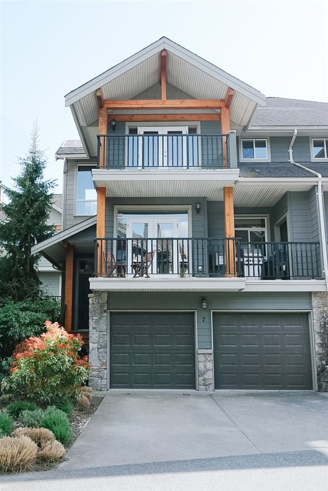 "Main Photo: 7 39758 GOVERNMENT Road in Squamish: Northyards Townhouse for sale in ""Arbourwoods"" : MLS®# R2399854"