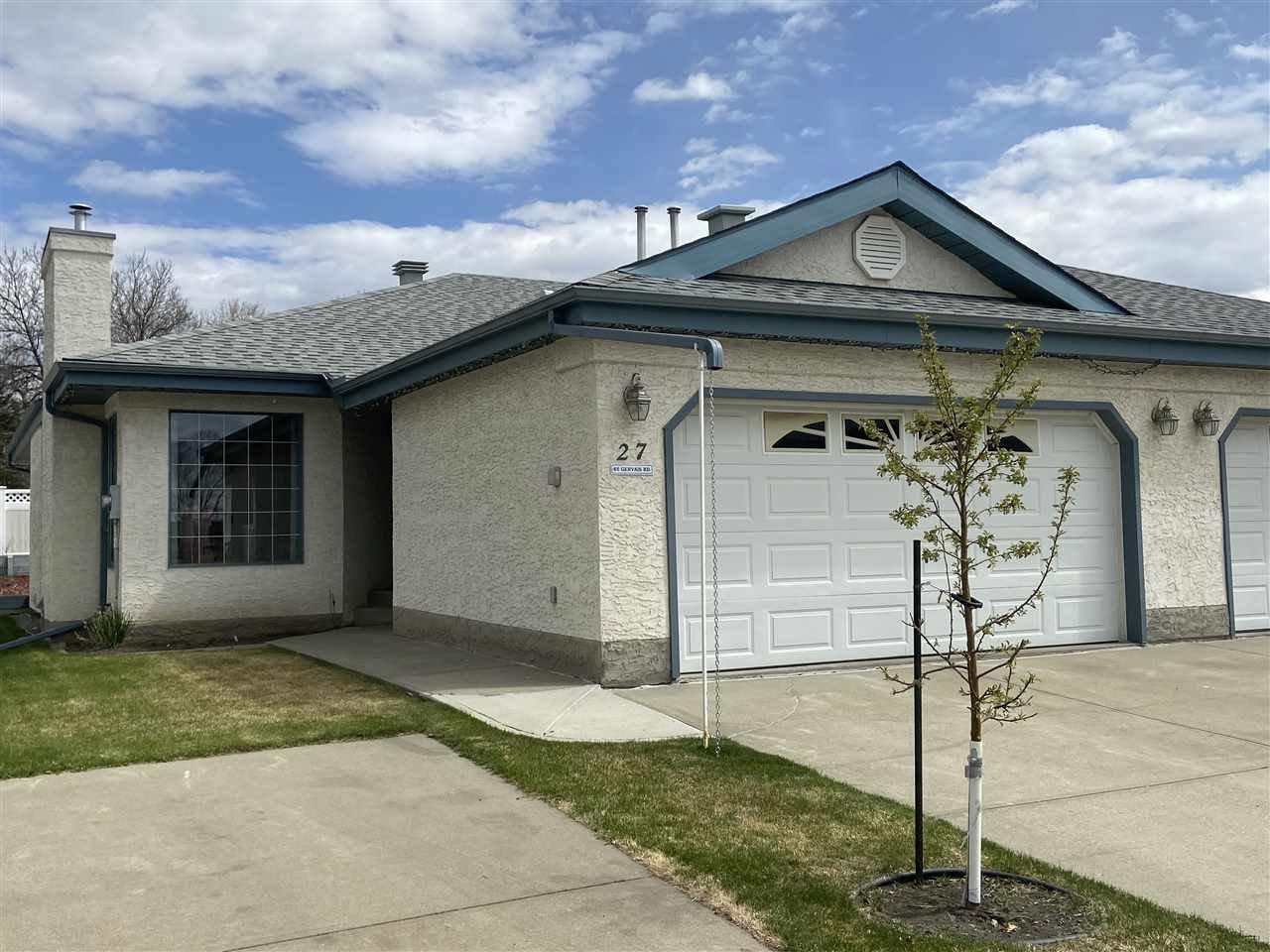 Main Photo: 27 85 GERVAIS Road: St. Albert House Half Duplex for sale : MLS®# E4200037