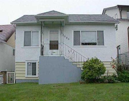 Main Photo: 3086 E 21st Ave Van: House for sale (Renfrew Heights)  : MLS®# v521317