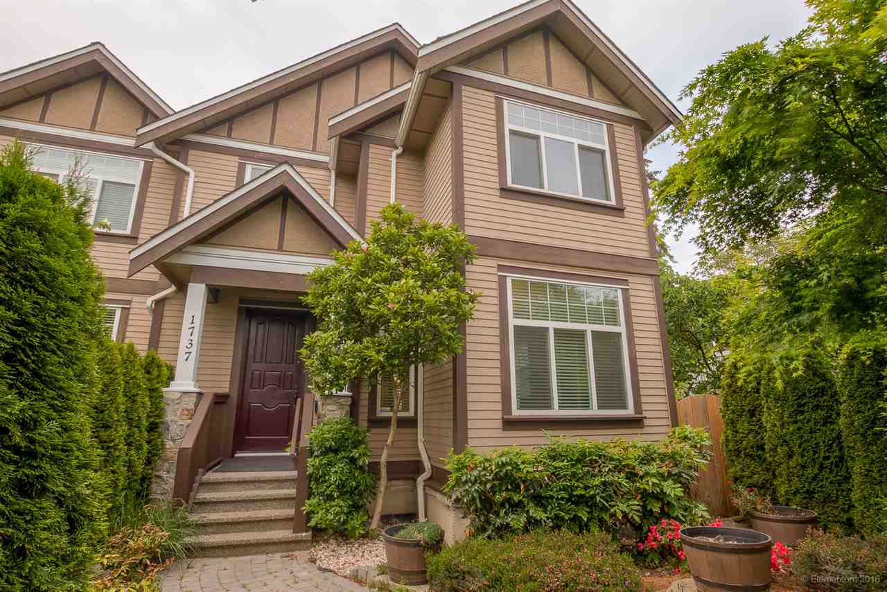 Main Photo: 1737 N GRANDVIEW HIGHWAY in Vancouver: Grandview VE House 1/2 Duplex for sale (Vancouver East)  : MLS®# R2066457