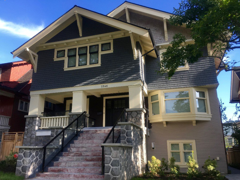 Main Photo: 1 2546 W 3rd Avenue in Vancouver: Kitsilano House 1/2 Duplex for sale (Vancouver West)