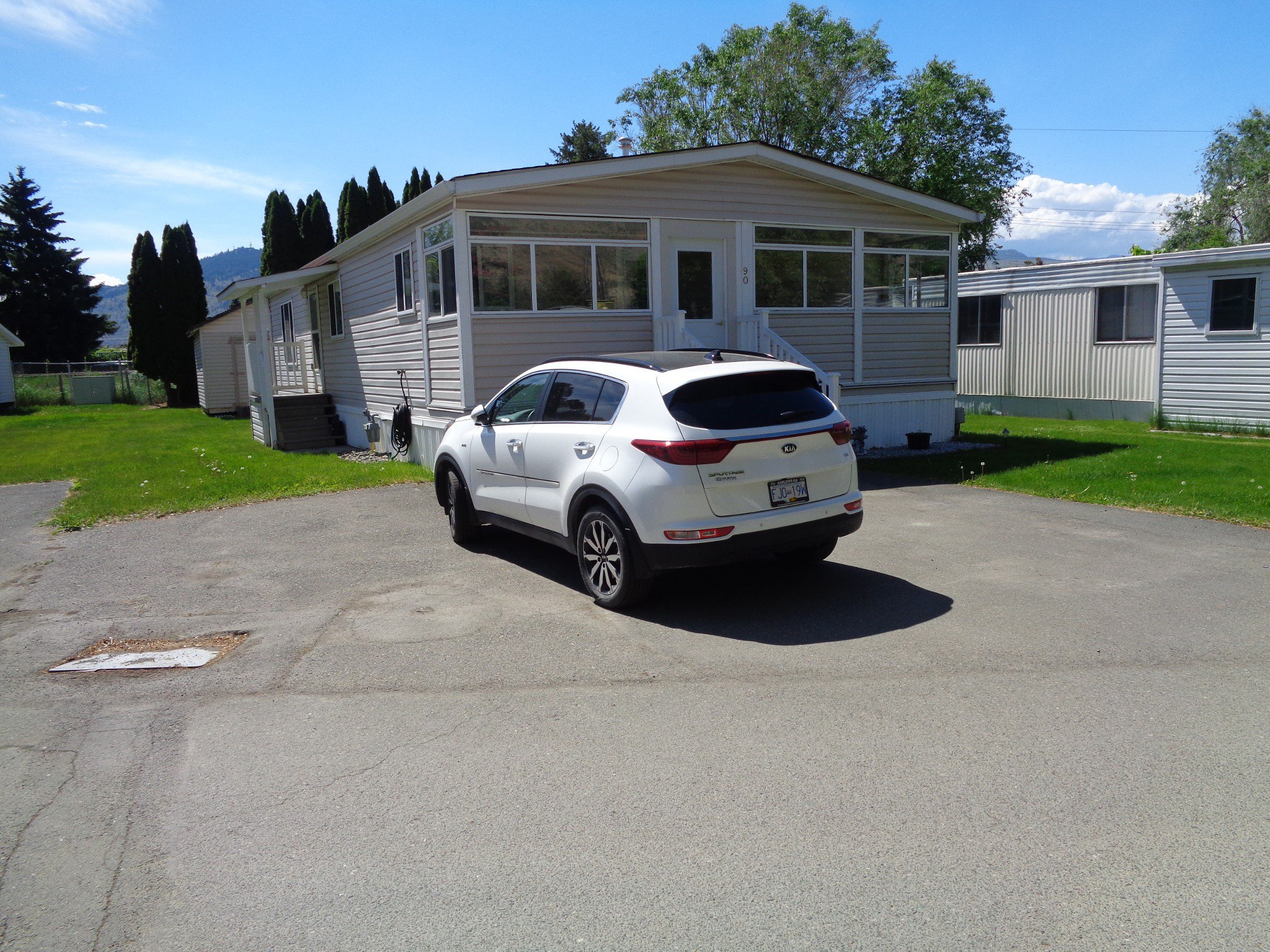 Main Photo: 90-2401 ORD ROAD in KAMLOOPS: BROCKLEHURST Manufactured Home for sale : MLS®# 151501