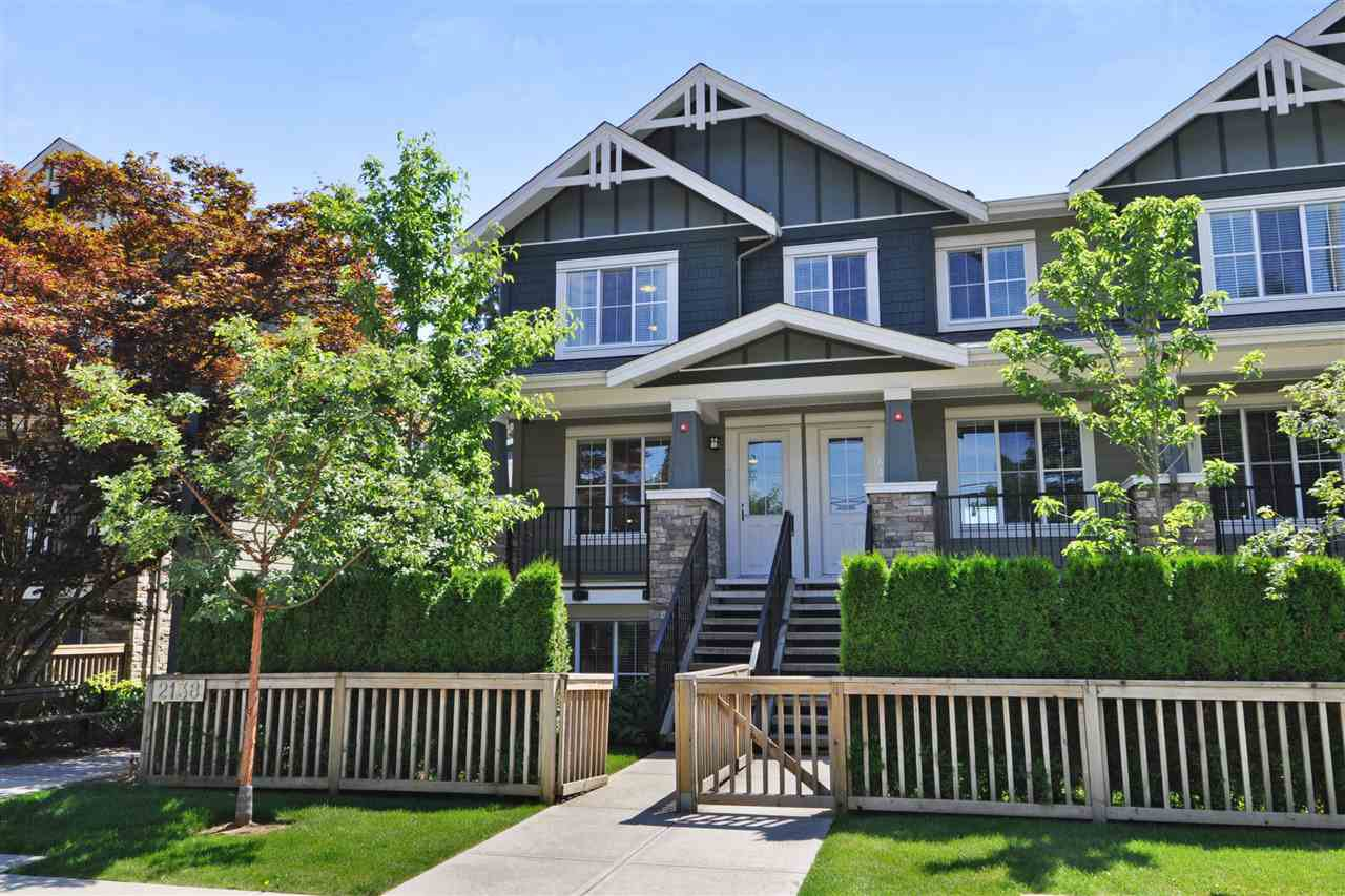 Main Photo: 40 2138 SALISBURY AVENUE in Port Coquitlam: Glenwood PQ Townhouse for sale : MLS®# R2361961