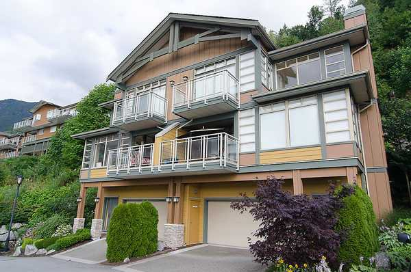 """Photo 10: Photos: 8522 SEASCAPE Court in West Vancouver: Howe Sound Townhouse for sale in """"SEASCAPES"""" : MLS®# V964816"""