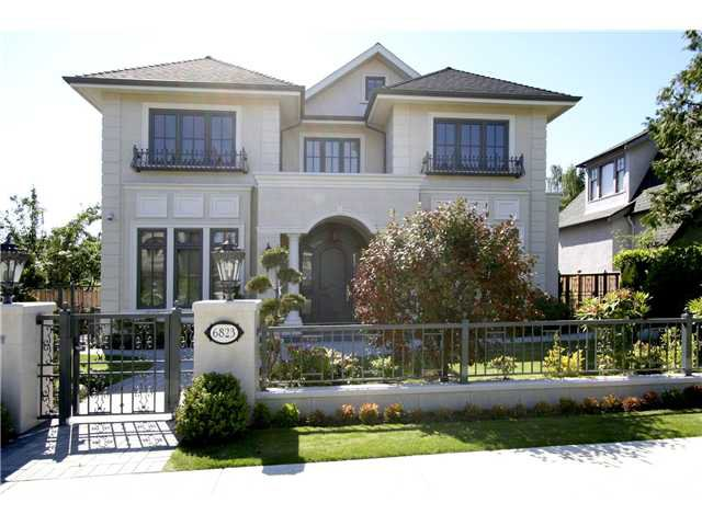 Main Photo: 6823 CYPRESS Street in Vancouver: Kerrisdale House for sale (Vancouver West)  : MLS®# V1010238