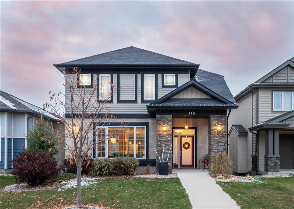 Main Photo: 115 Bellflower Road in Winnipeg: Bridgwater Lakes Residential for sale (1R)  : MLS®# 202026758