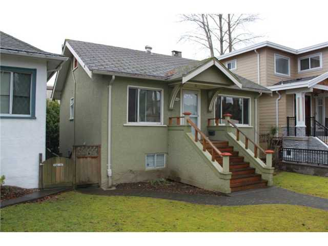 Main Photo: 3539 W 10TH Avenue in Vancouver: Kitsilano House for sale (Vancouver West)  : MLS®# V931077