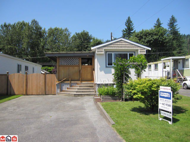 """Main Photo: 22 9960 WILSON Road in Mission: Stave Falls Manufactured Home for sale in """"RUSKIN PLACE"""" : MLS®# F1217569"""
