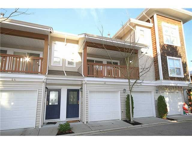 "Main Photo: 23 7088 LYNNWOOD Drive in Richmond: Granville Townhouse for sale in ""LAUREL WOODS"" : MLS®# V997701"