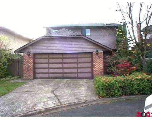 "Main Photo: 15398 95A Avenue in SURREY: Fleetwood Tynehead House for sale in ""BRIARWOOD"" (Surrey)  : MLS®# F2621936"