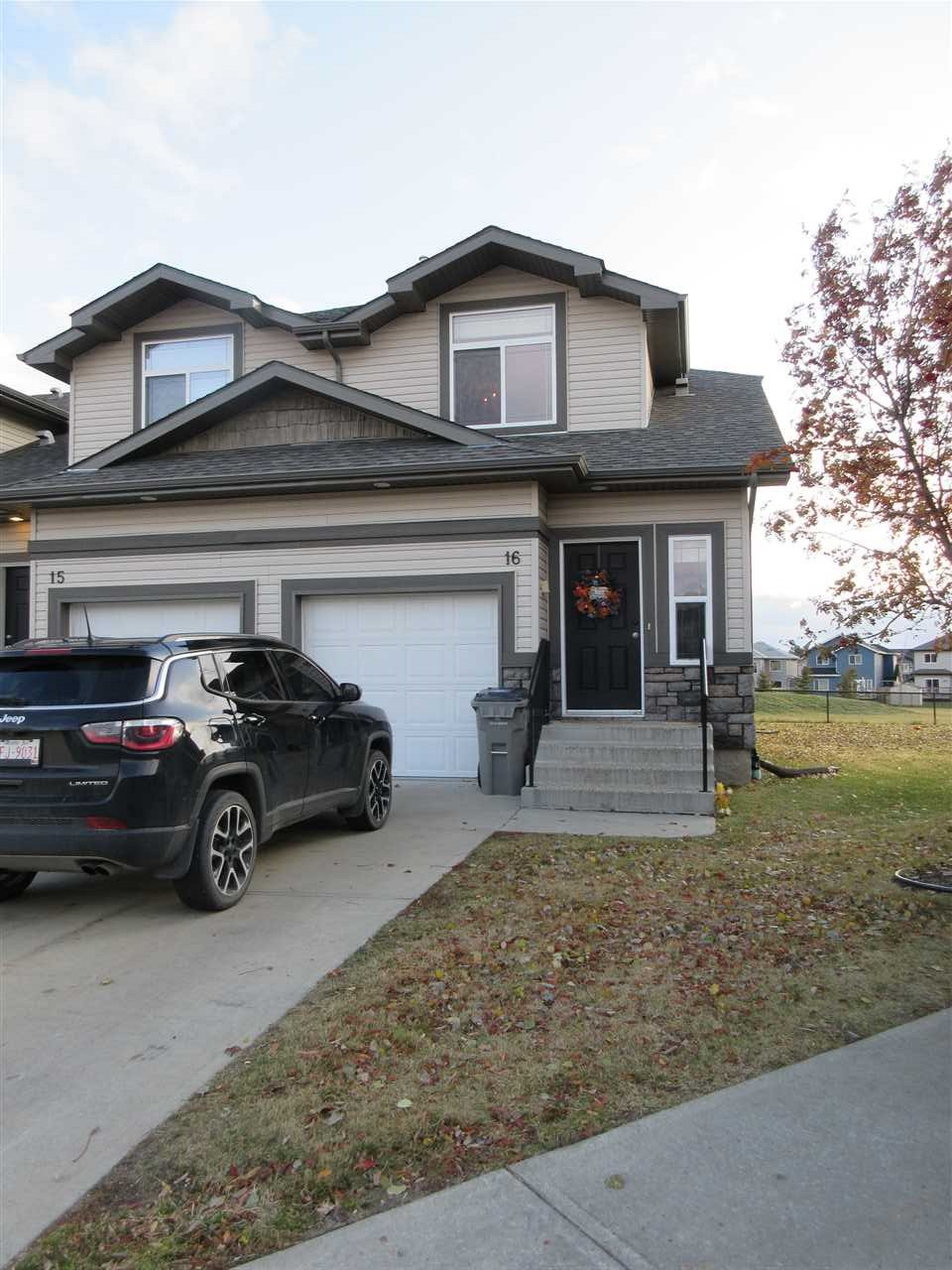 Main Photo: 16 9511 102 Avenue: Morinville Townhouse for sale : MLS®# E4178333