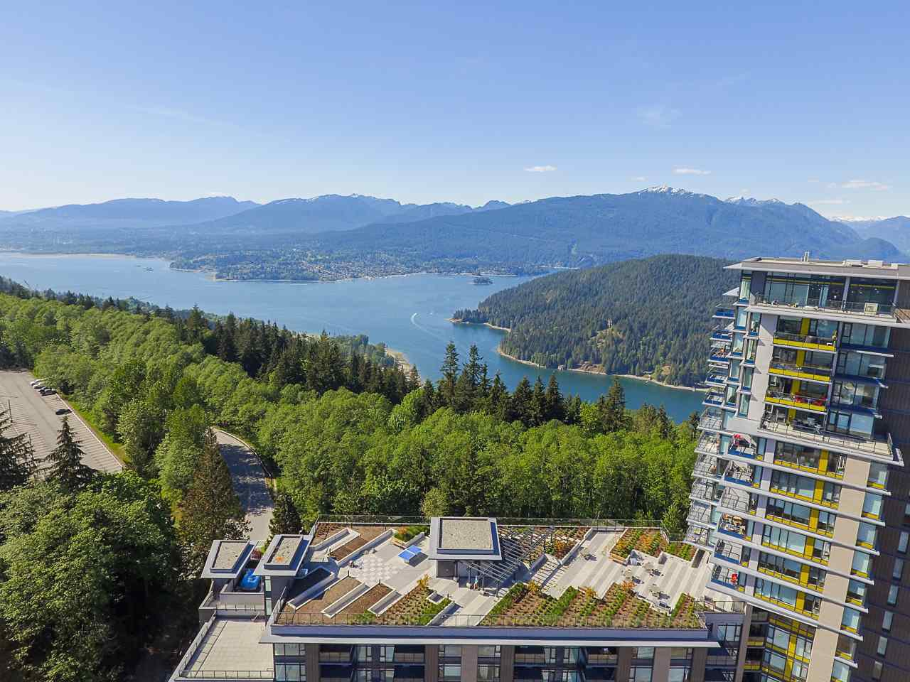 "Main Photo: 1507 8850 UNIVERSITY Crescent in Burnaby: Simon Fraser Univer. Condo for sale in ""The Peak at SFU"" (Burnaby North)  : MLS®# R2416972"