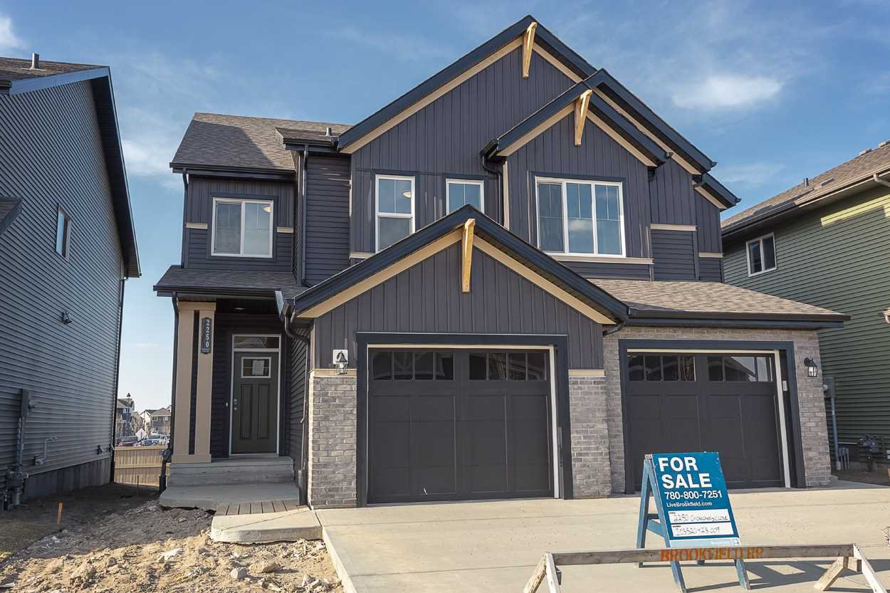 Main Photo: 2250 Chokecherry Close in Edmonton: Zone 53 House Half Duplex for sale : MLS®# E4196172