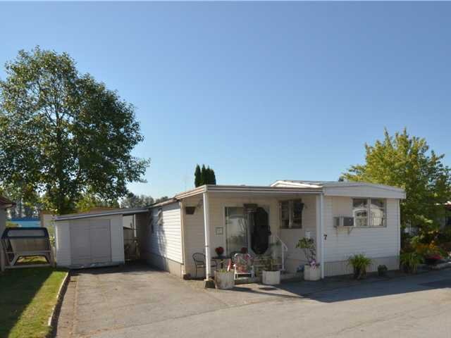 """Main Photo: 37 201 CAYER Street in Coquitlam: Maillardville Manufactured Home for sale in """"WILDWOOD PARK"""" : MLS®# V972709"""