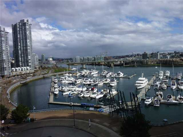 Main Photo: # 905 1201 MARINASIDE CR in Vancouver: Yaletown Condo for sale ()  : MLS®# V938360