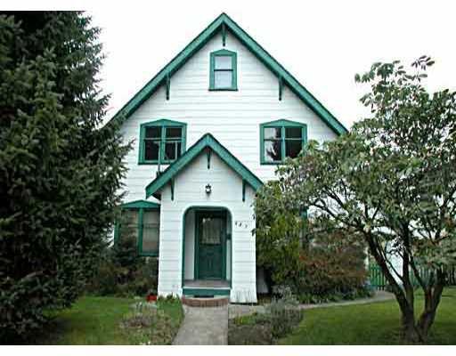 Main Photo: 237 E 20TH AV in : Main House for sale : MLS®# V334976