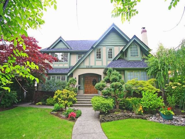 Main Photo: 2659 West 36th Avenue in Vancouver: House for sale : MLS®# v1071620
