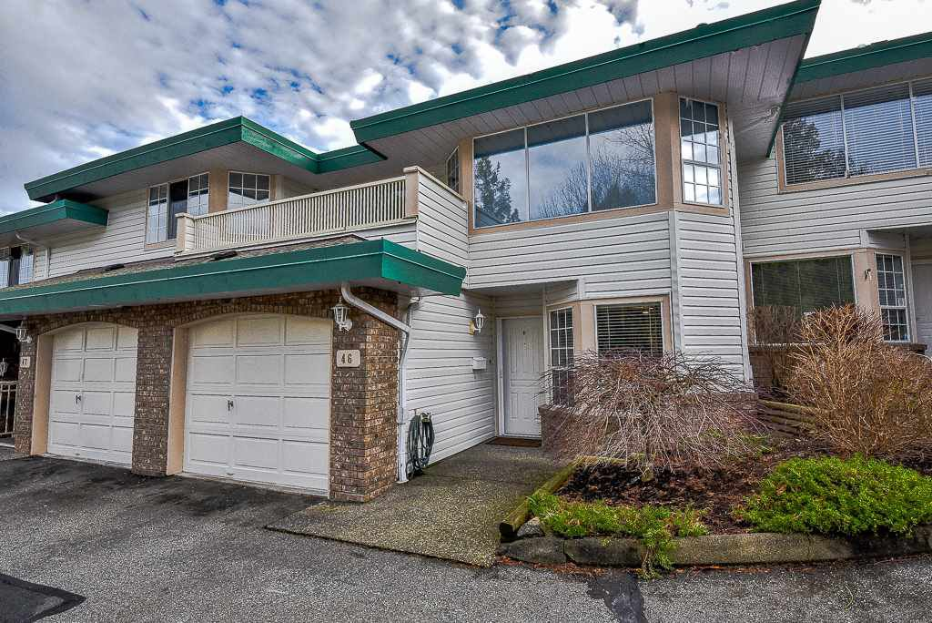 Main Photo: 46 3115 TRAFALGAR STREET in Abbotsford: Central Abbotsford Townhouse for sale : MLS®# R2331716