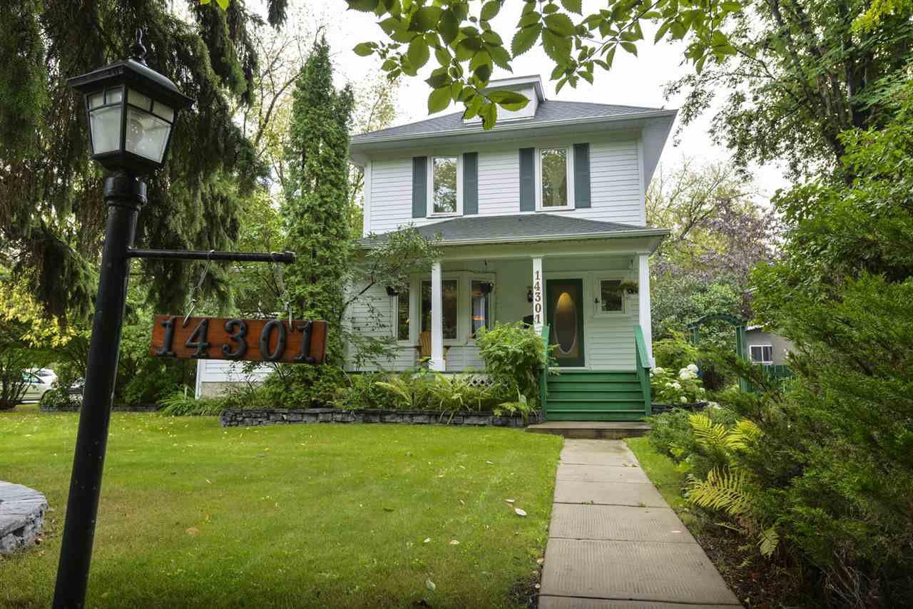Main Photo: 14301 101 Avenue in Edmonton: Zone 21 House for sale : MLS®# E4185651