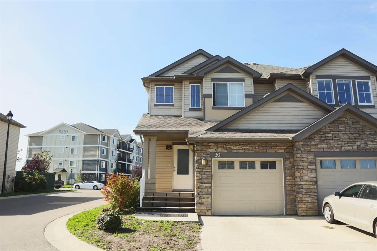 Main Photo: #30-9231 213 Street in Edmonton: Zone 58 House Half Duplex for sale : MLS®# E4221457