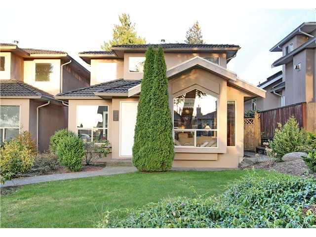 """Photo 1: Photos: 6216 SPERLING Avenue in Burnaby: Upper Deer Lake 1/2 Duplex for sale in """"UPPER DEER LAKE"""" (Burnaby South)  : MLS®# V998192"""