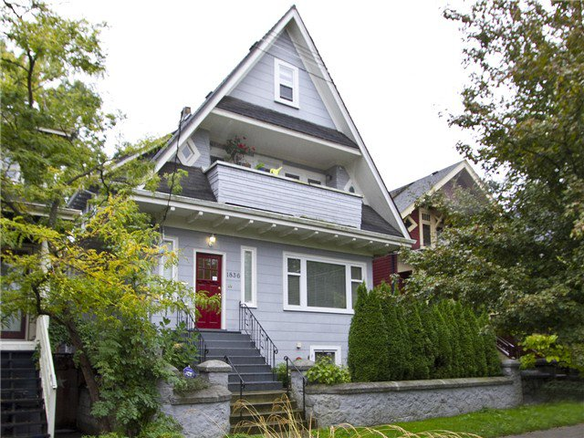 Main Photo: B-1836 Grant St in Vancouver: Grandview VE House Triplex for sale (Vancouver East)  : MLS®# v1029019