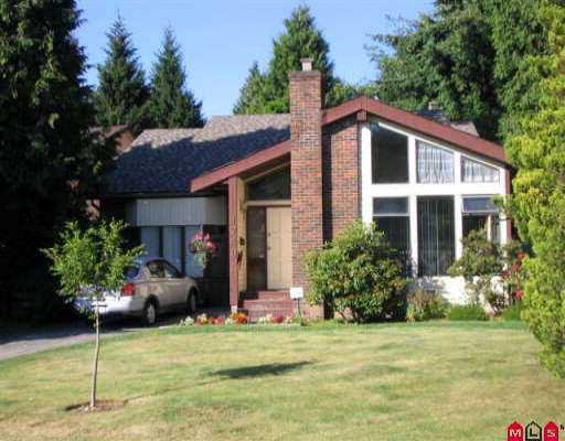 """Main Photo: 1740 148A ST in White Rock: Sunnyside Park Surrey House for sale in """"SOUTHMERE"""" (South Surrey White Rock)  : MLS®# F2614034"""