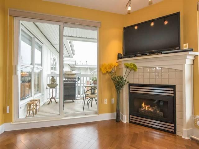 Photo 4: Photos: 402 1858 W 5TH AVENUE in Vancouver: Kitsilano Condo for sale (Vancouver West)  : MLS®# R2152257