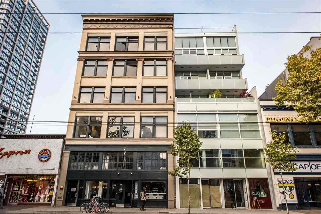 Main Photo: 101 53 W HASTINGS STREET in Vancouver: Downtown VW Retail for lease (Vancouver West)  : MLS®# C8023722