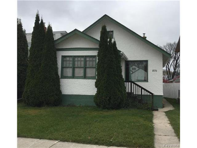 Main Photo: 870 Garfield: Residential for sale (5C)  : MLS®# 1627494