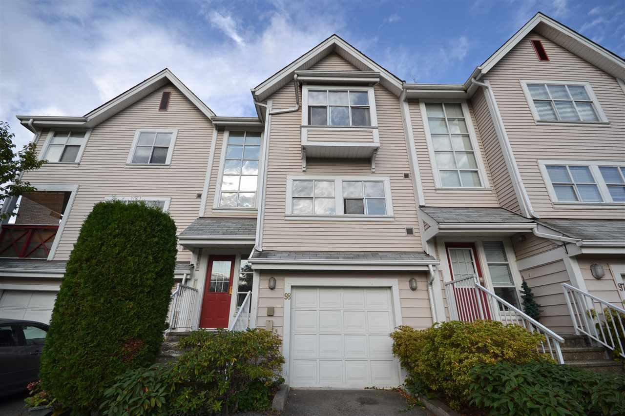 Main Photo: 98 2450 HAWTHORNE Avenue in Port Coquitlam: Central Pt Coquitlam Townhouse for sale : MLS®# R2409908