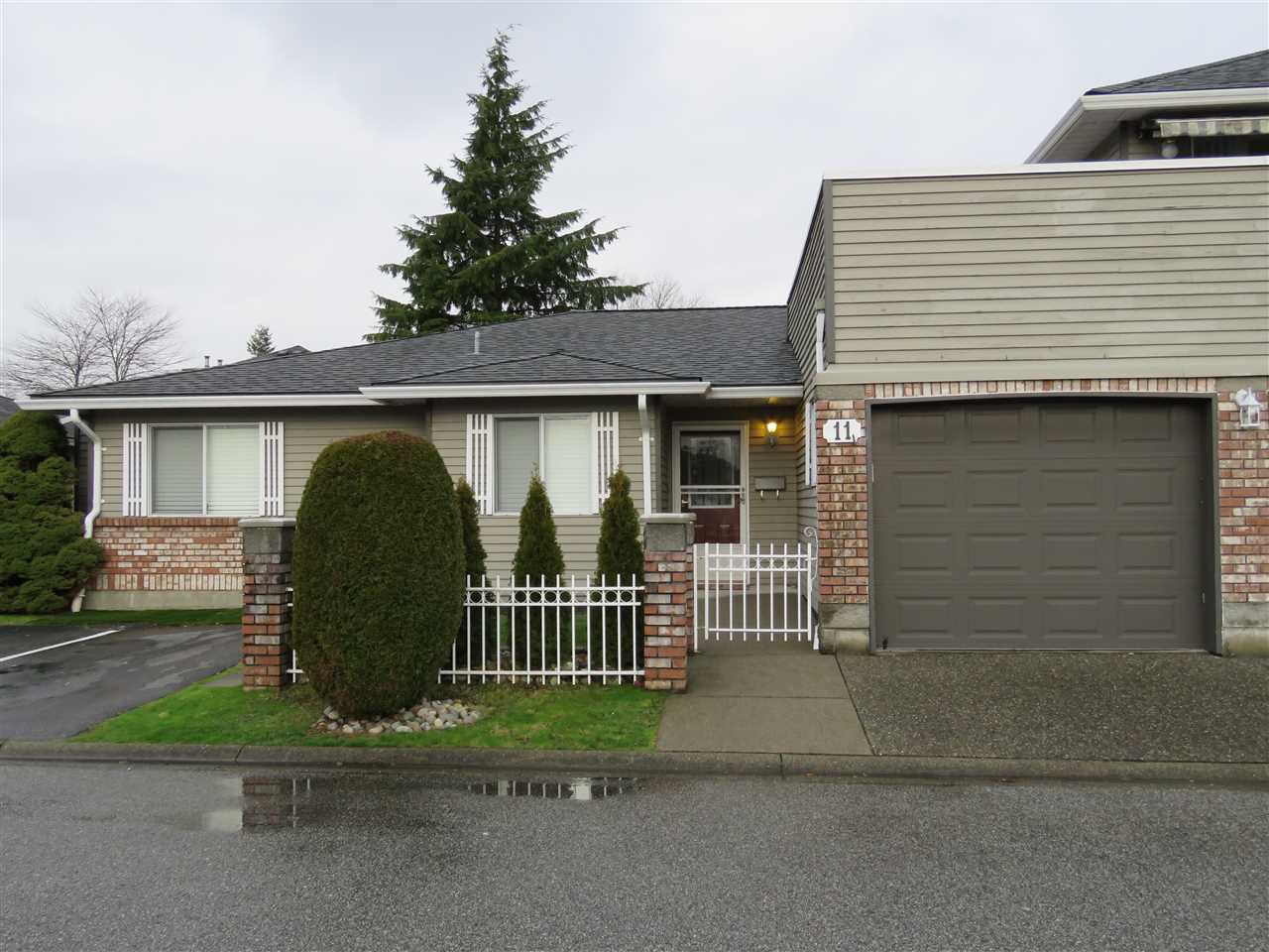 Main Photo: 11 6350 48A Avenue in Delta: Holly Townhouse for sale (Ladner)  : MLS®# R2430189