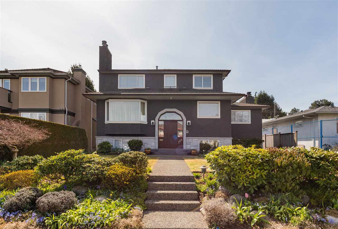 Photo 1: Photos: 366 W 26TH Avenue in Vancouver: Cambie House for sale (Vancouver West)  : MLS®# R2449624