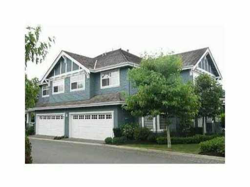 "Main Photo: 2 3511 GRANVILLE Avenue in Richmond: Terra Nova Townhouse for sale in ""SHERWOOD - TERRA NOVA"" : MLS®# V1011618"