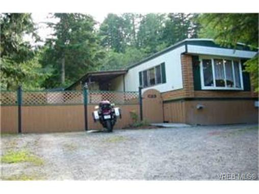 Main Photo: C23 920 Whittaker Road in MALAHAT: ML Malahat Proper Manu Single-Wide for sale (Malahat & Area)  : MLS®# 234250