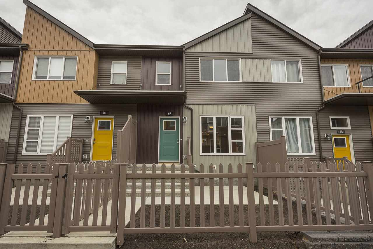 Main Photo: 67 4470 Prowse Road in Edmonton: Zone 55 Townhouse for sale : MLS®# E4169862