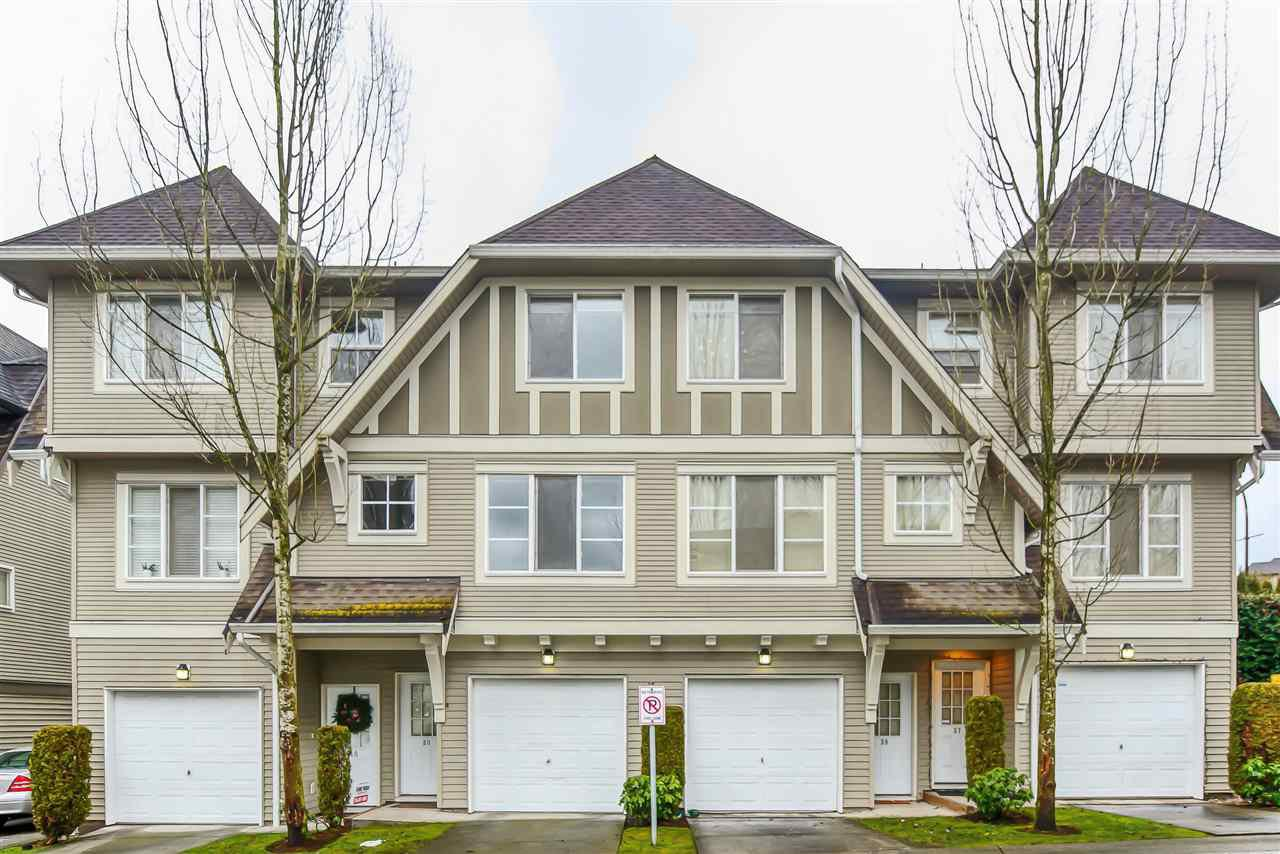 "Main Photo: 39 15175 62A Avenue in Surrey: Sullivan Station Townhouse for sale in ""BROOKSLANDS"" : MLS®# R2430637"