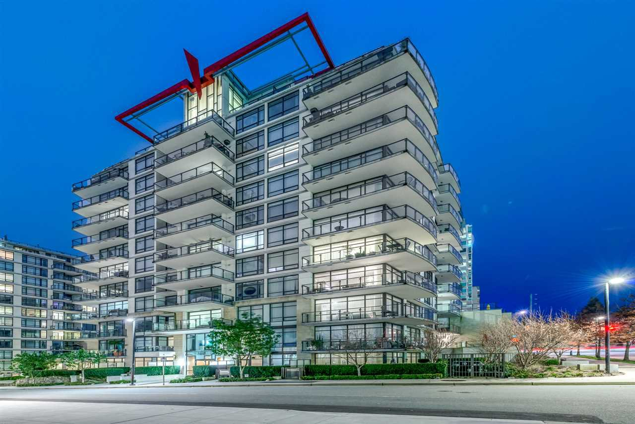 "Main Photo: 808 172 VICTORY SHIP Way in North Vancouver: Lower Lonsdale Condo for sale in ""Atrium East"" : MLS®# R2432389"