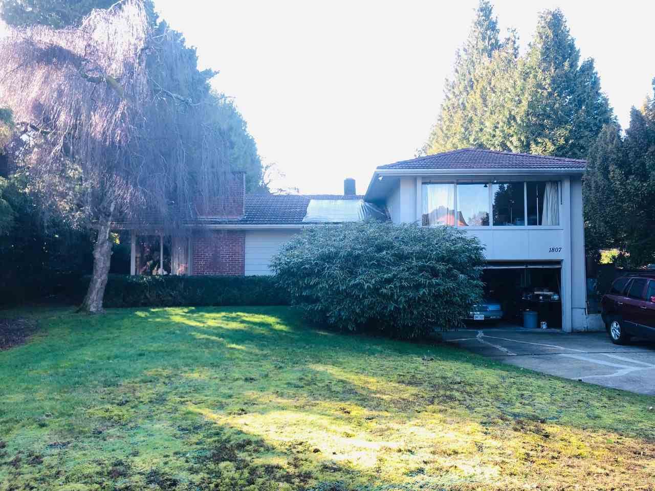 Main Photo: 1807 KNOX Road in Vancouver: University VW House for sale (Vancouver West)  : MLS®# R2446626