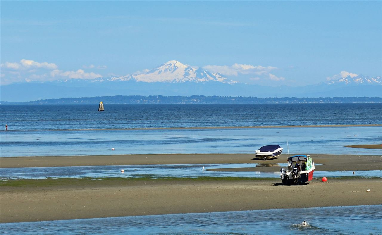 Breathtaking views of Boundary Bay -From the North Shore to Mount Baker!