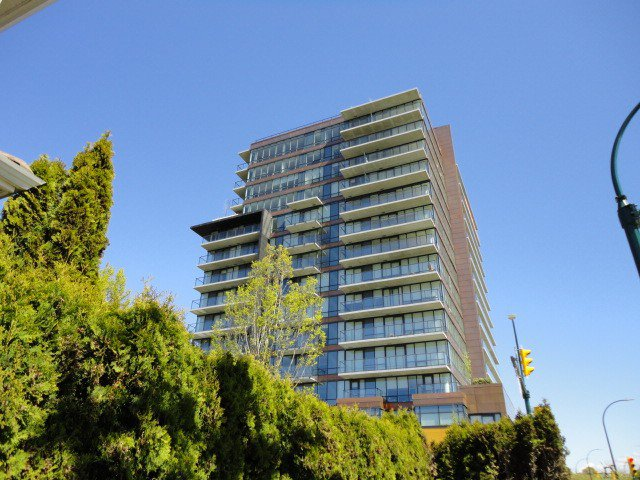 Main Photo: # 608 8588 CORNISH ST in Vancouver: S.W. Marine Condo for sale (Vancouver West)  : MLS®# V1116032