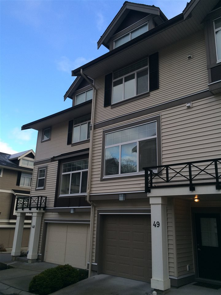 Main Photo: 49 14377 60 AVENUE in Surrey: Sullivan Station Townhouse for sale : MLS®# R2025449