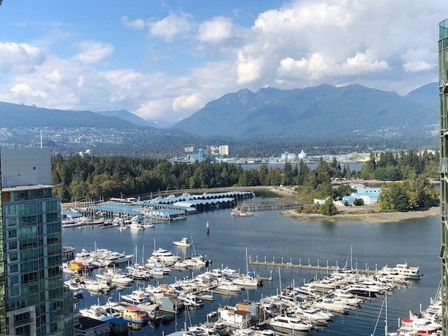Main Photo: 2506 1328 W PENDER STREET in Vancouver: Coal Harbour Condo for sale (Vancouver West)  : MLS®# R2299079